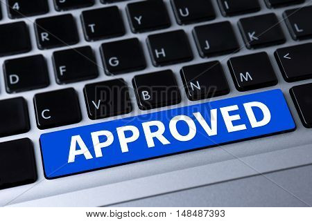 Approved  (accepted Application Form )