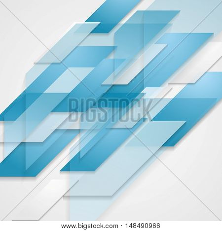 Tech corporate abstract vector template background