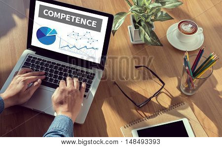 Competence  ( Skill Ability Proficiency Accomplishment)