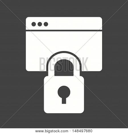 Security, information, data icon vector image. Can also be used for startup. Suitable for use on web apps, mobile apps and print media.