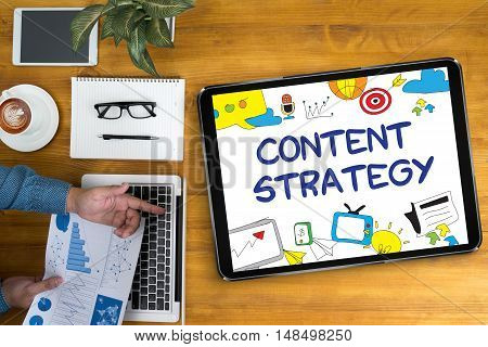 Content Strategy (digital Technology Information Network E-business)