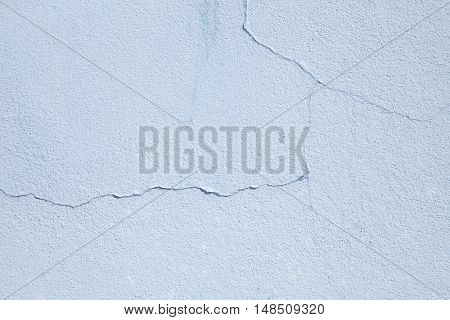 Grunge light blue wall may used as background