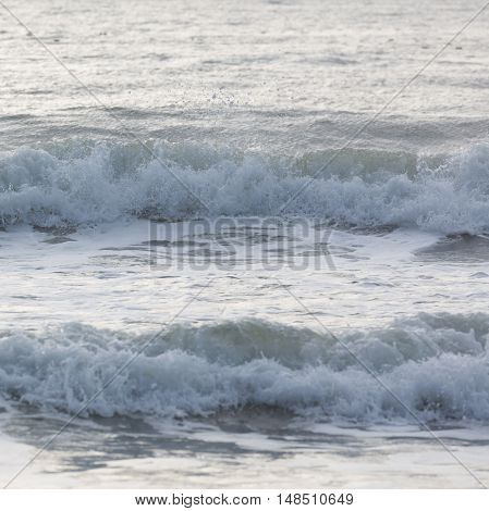 Close-up Sea Surf