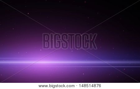 Abstract background is showing a flash of light space.Vector