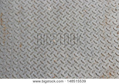 metal texture diagonal pattern on gray for the background