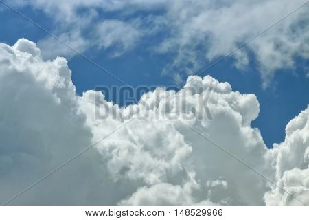 Cloud Close Up Background