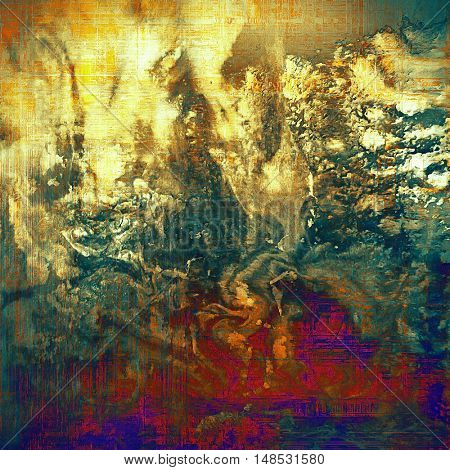 Nice looking grunge texture or abstract background. With different color patterns: yellow (beige); brown; gray; blue; red (orange); purple (violet)