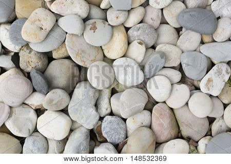Sea stone stacked for background.  Abstract background