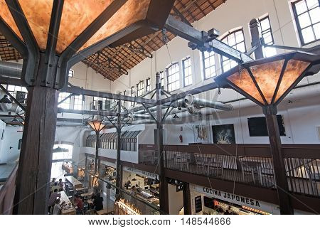 Sant Juan Market Interior Detail