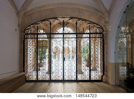 Beautiful Courtyard Door