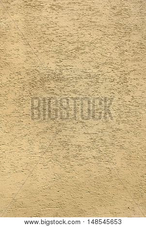 Vintage yellow wall grunge background texture abstract