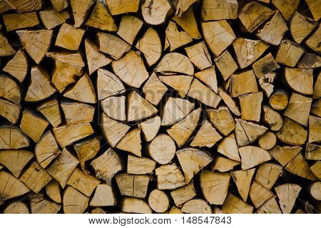 Wood For The Fireplace.