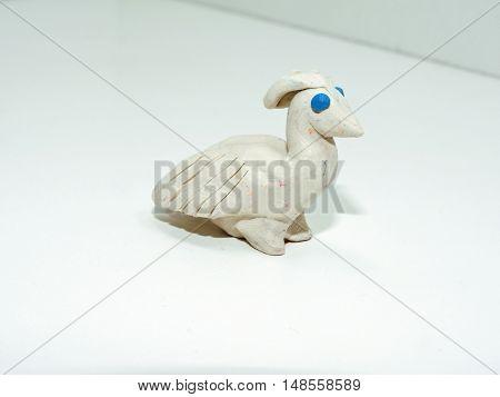 White Small Bird
