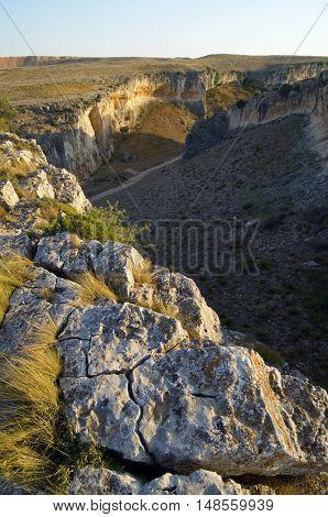 Foz de Zafran�©; La Puebla de Albort�³n; Campo de Belchite; Zaragoza; Arag�³n; Spain