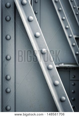 background or texture the Bridge construction detail gray