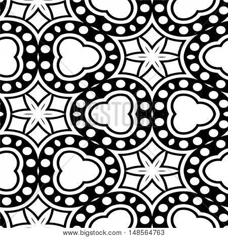 Abstract seamless  pattern - vector illustration