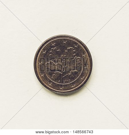Vintage German 1 Cent Coin