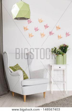 Origami Wall Art Idea