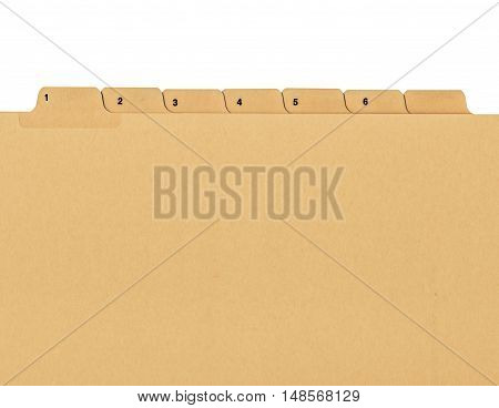 Vintage Looking Folder