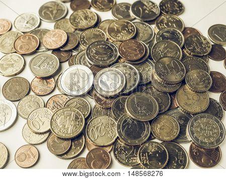 Vintage Euro Coins