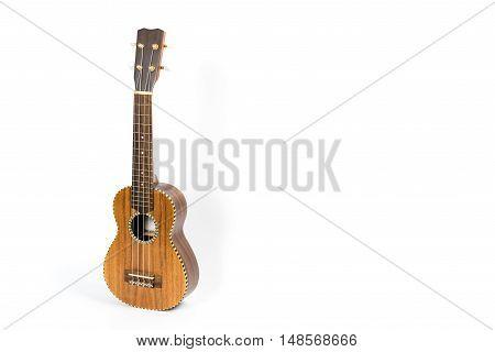 Ukulele isolated on white background. Music instrument.