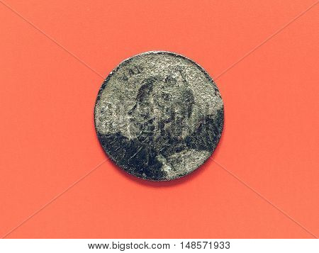 Vintage Ancient Rusted Coin