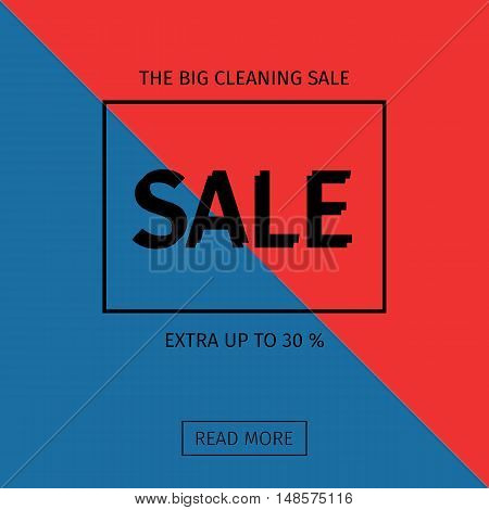 Sale templates with discount offer. 30 off . Vector illustrations for social media banners, posters, email and newsletter designs, ads, promotional material and mobile website Geometric design.
