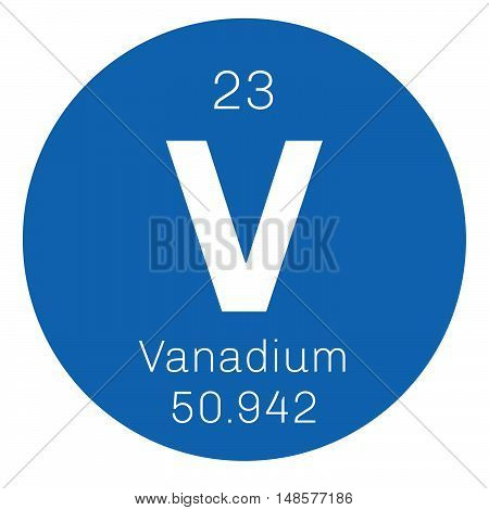 Vanadium Chemical Element