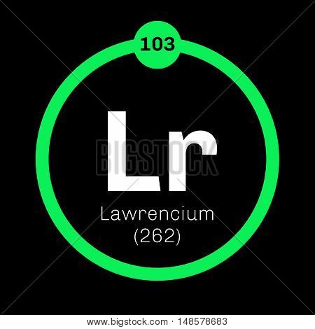 Lawrencium Chemical Element