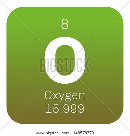 Oxygen Chemical Element