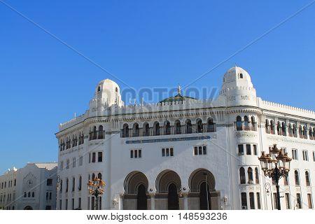 White city of Algiers, the capital city of Algeria