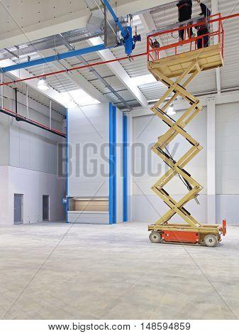 Hydraulic Scissors Lift Platform in New Factory