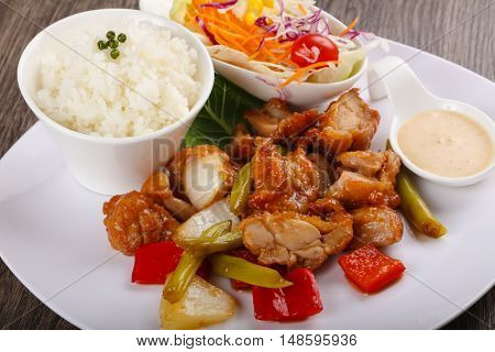 Stir Fry Teriyaki Pork