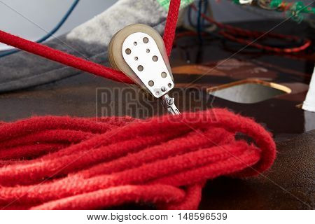 Rigging of sailing yachts sports equipment for sailing yachts