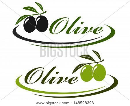 Sign With Olives