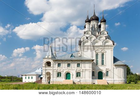 Church of the Annunciation in Taininskoe Russia