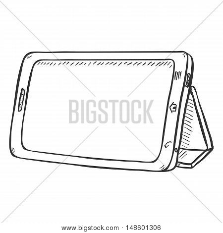 Vector Single Sketch Tablet Pc