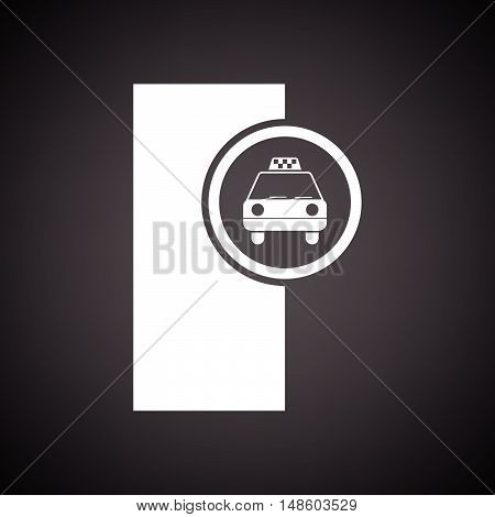 Taxi Station Icon