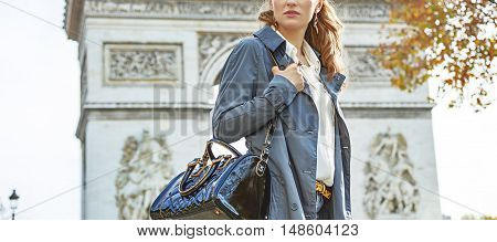 Young Fashion-monger In Paris, France Looking Into Distance