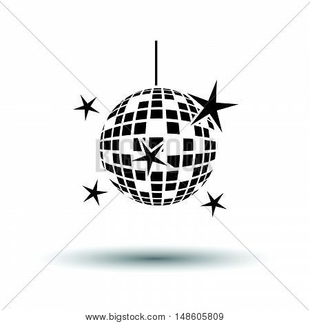 Night Clubs Disco Sphere Icon