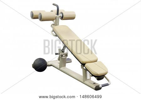 The image of a fitness machine
