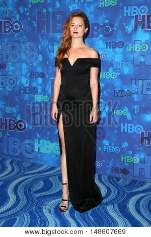 LOS ANGELES - SEP 18:  Grace Gummer at the 2016  HBO Emmy After Party at the Pacific Design Center on September 18, 2016 in West Hollywood, CA