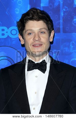 LOS ANGELES - SEP 18:  Iwan Rheon at the 2016  HBO Emmy After Party at the Pacific Design Center on September 18, 2016 in West Hollywood, CA