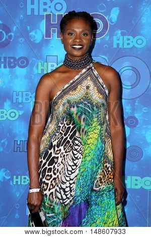LOS ANGELES - SEP 18:  Adina Porter at the 2016  HBO Emmy After Party at the Pacific Design Center on September 18, 2016 in West Hollywood, CA