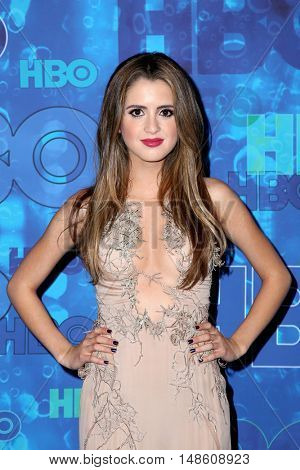 LOS ANGELES - SEP 18:  Laura Marano at the 2016  HBO Emmy After Party at the Pacific Design Center on September 18, 2016 in West Hollywood, CA