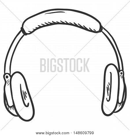 Vector Single Sketch Circumaural Headphones
