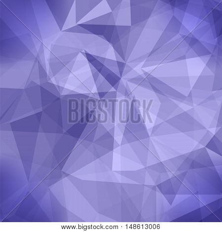 Abstract Blue Pattern. Geometric Blue Futuristic Background