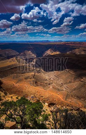 Muley Point Overlook Mexican Hat Ut