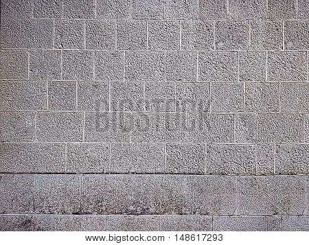 Texture gray level of a brick wall.