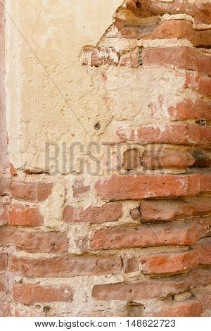 Brick Column Detail